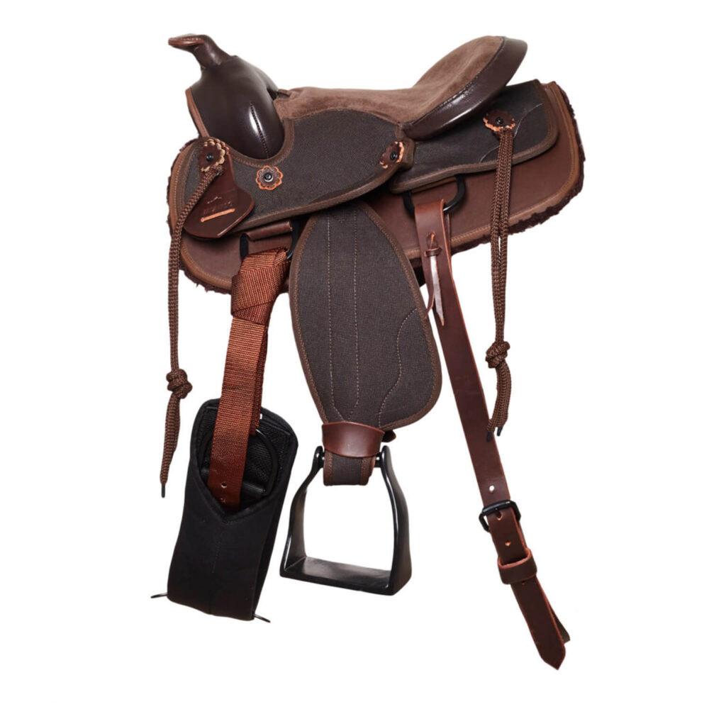Σέλα Western Pony MOMPSO Sport