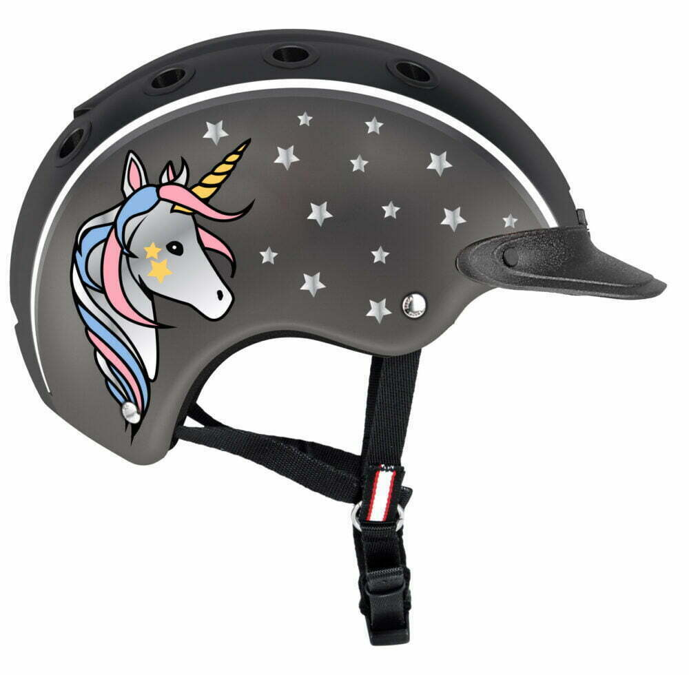 CASCO Nori Unicorn riding helmet