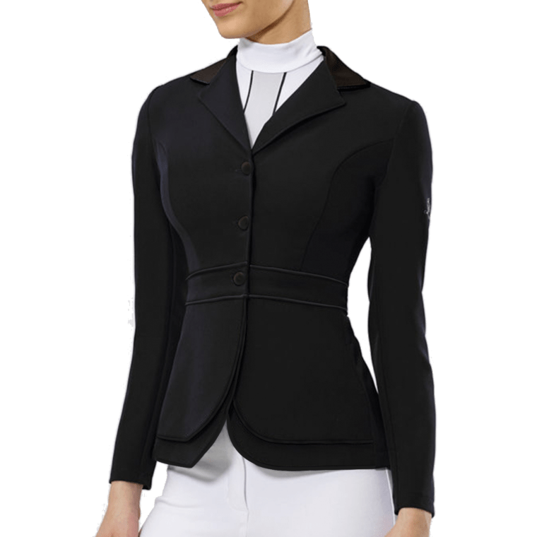 Cavalliera ladies competition jacket Double Front Panel Limited Edition
