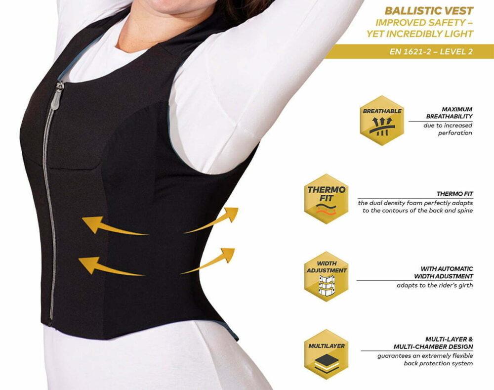 Γυναικείος Θώρακας KOMPERDELL Ballistic Flex-Fit Level 2