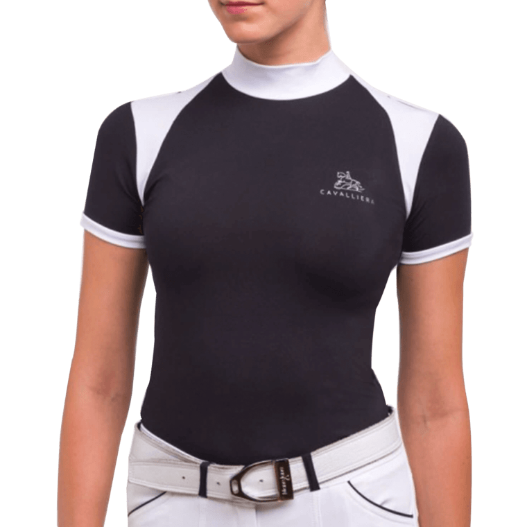 CAVALLIERA ladies top Black Jack