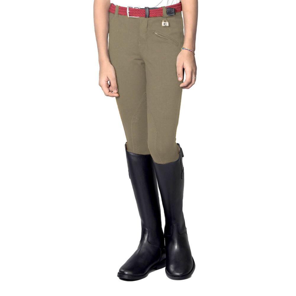 Παιδικό παντελόνι ιππασίας EQUESTRO Kasumi