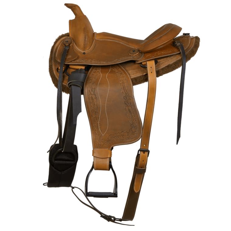 Western MOMPSO Flower saddle