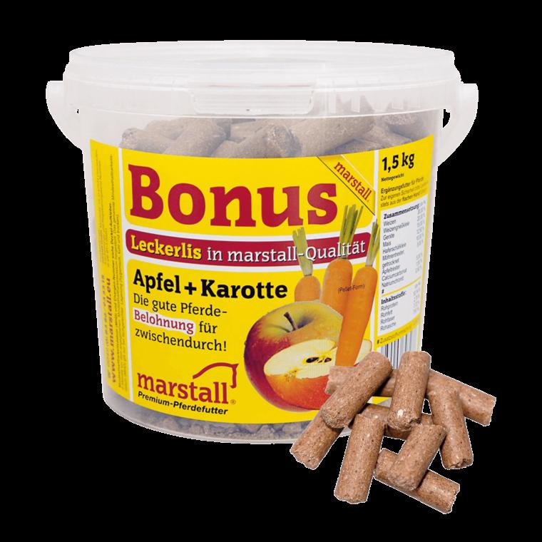 Marstall Bonus Sticks με γεύση Μήλο-Καρότο 1,5kg