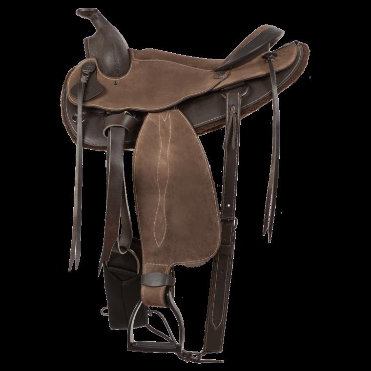 MOMPSO Olympus Western Saddle